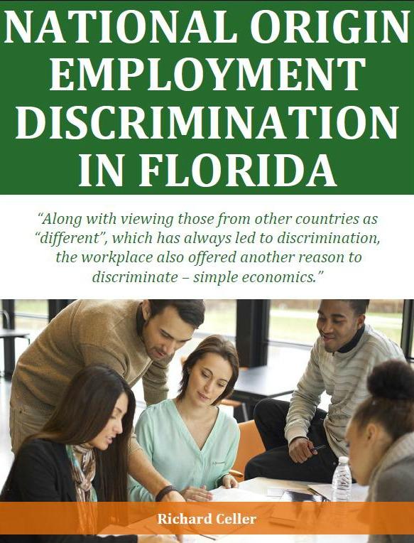 National Origin Employment Discrimination in Florida