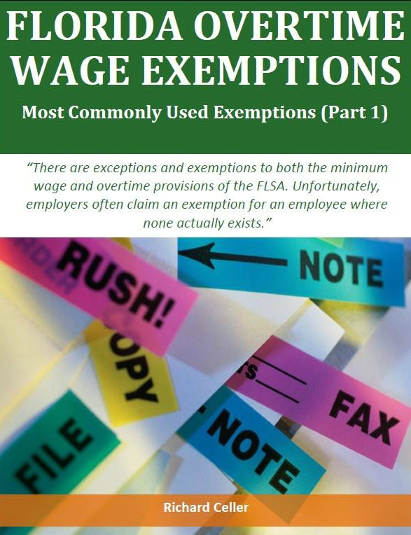 Florida Overtime Wage Exemptions